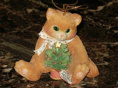 """Calico Kittens   """"merry Christmas Kitty"""" Mint"""