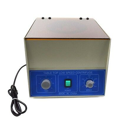 New Electric Benchtop Centrifuge Lab Practice LD-5 4000rpm 8*50ml 110V 60 Hz