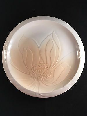 Franciscan, Floral Sculptures, Topaz, Lotus, Luncheon Plate