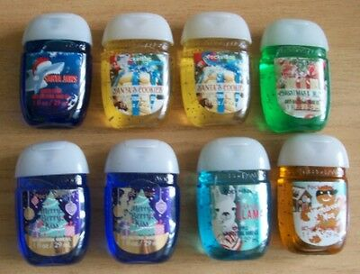 Bath & Body Works 2016 Various Christmas Pocketbacs ~ Brand New Imperfect Labels