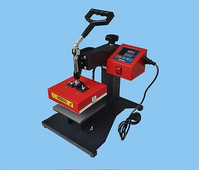 "Hot Sale! New110V Small Manual Heat Press Machine 5.9*5.9"" Efficient Lightweight"