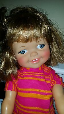 1966 Giggles Doll Original outfit Great Condition