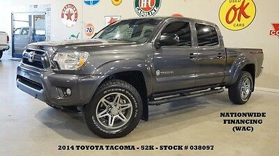 2014 Toyota Tacoma PreRunner SR5 Texas Edition 4X2 BACK-UP CAM,B/T,CL 14 TACOMA DOUBLE CAB PRERUNNER SR5 TX ED. 4X2,BACK-UP CAM,CLOTH,52K,WE FINANCE!!
