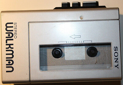 SONY WM-4 Stereo Walkman Cassette Player Tested Works Great