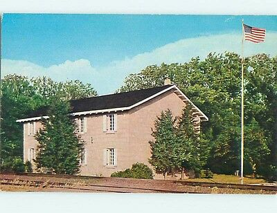 Pre1980 FIRST TERRITORIAL CAPITOL OF STATE Manhattan - Junction City KS Q0334