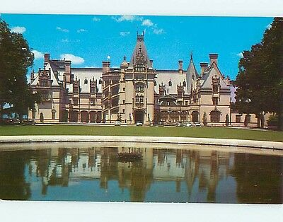 Unused 1950's OLD CARS & BILTMORE HOTEL Biltmore North Carolina NC Q4034