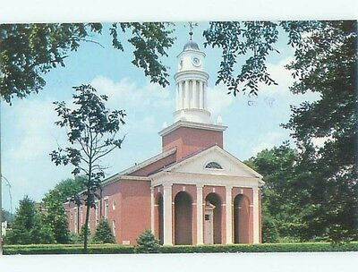 Pre-1980 CHAPEL AT UNION COLLEGE Barbourville Kentucky KY Q3250