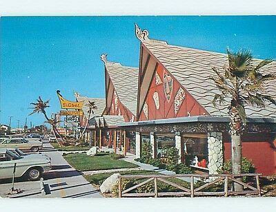 Unused Pre-1980 OLD CARS & SIGNAL HOUSE GIFT SHOP Indian Rocks Beach FL Q8248