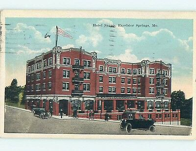 W-Border SNAPP HOTEL Excelsior Springs Missouri MO Q7404
