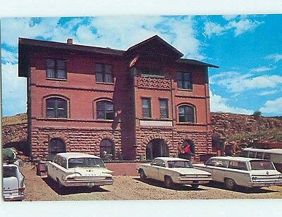 Unused Pre-1980 ABANDONED TRAIN STATION AT MUSEUM Cripple Creek CO Q8591