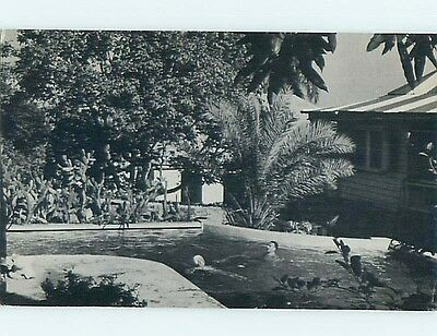 1950s PINK FANCY APARTMENT HOTEL IN CHRISTIANSTED - ST. CROIX US USVI Q5018