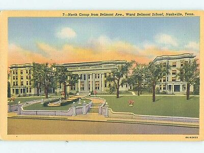 Unused Linen WARD BELMONT SCHOOL Nashville Tennessee TN Q9406