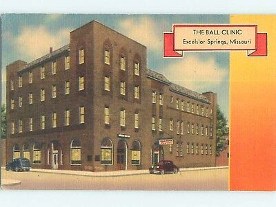 Linen OLD CARS & BALL CLINIC Excelsior Springs Missouri MO Q9662