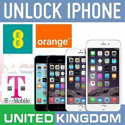 Apple Iphone 6 Factory Unlocking Code Service For Ee Orange T-Mobile Uk