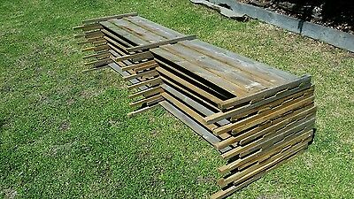 Fence Extensions (used) 2400 x 450mm, (7)
