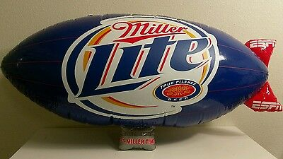 Miller Lite MGD Its Miller Time ESPN Inflatable Blimp