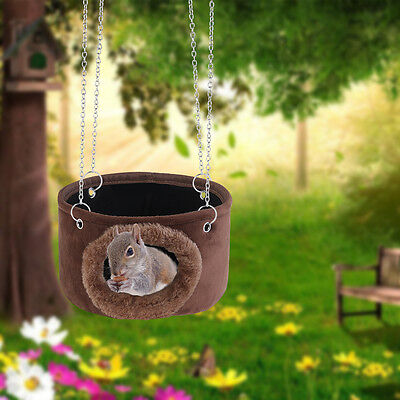 Small Pet Hammock Hanging Bed House Cage Hut for Hamster Squirrel Ferret Rat