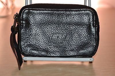 Hershel Supply Co. Oxford Coin Pouch Purse Wallet Black Leather