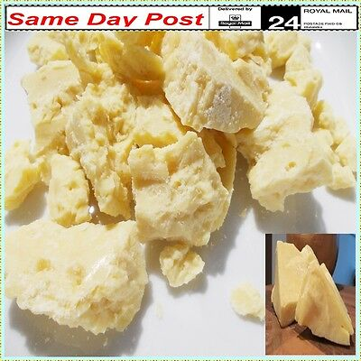 Cocoa Butter 100% Pure Organic Refined Natural Raw cacao fat high quality 25g 1k