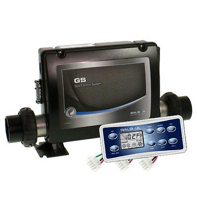 Balboa GS523DZ Control Box with VL801D topside panel,suitable to spas