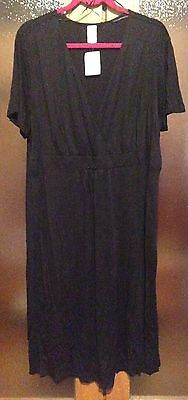 Brand New With Tag. Black Dress Short Sleeves Size 22