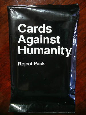 Cards Against Humanity Reject Pack BRAND NEW + SEALED (Rare)