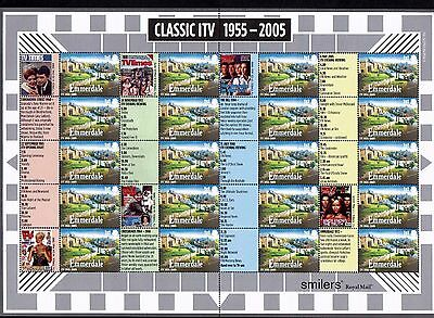 GB LS26a 2005 Classic ITV Generic Sheet Error (times out of sequence) U/M Mint