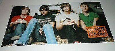 THE ALL AMERICAN REJECTS~Promo Poster Flat~Double Sided~12x24~Excellent~2002