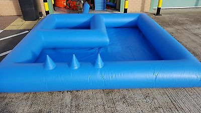 Inflatable Soft Play Surround With Ball Pond And Air Jugglers .