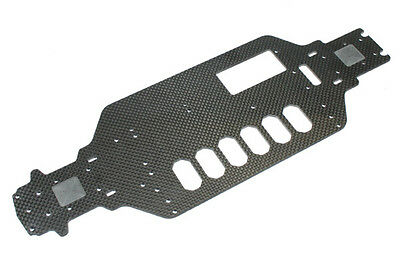 FTX Banzai Carbon Chassis Plate - FTX6488 UPGRADE PART HOP UP