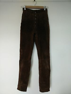 Atelier suede leather pants size 8