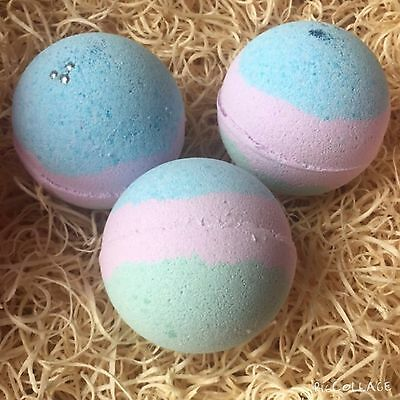 X3 Colour Changing Bath Bombs - New - FREE POSTAGE