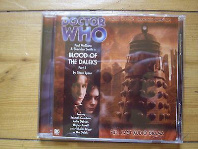 Doctor Who Blood of the Daleks Part 1, 2006 Big Finish audio book CD