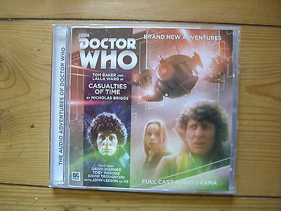 Doctor Who Casualties of Time, 2016 Big Finish audio book CD