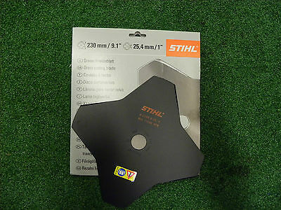 Genuine Stihl 4 Blade Grass Cutting Brushcutter Blade 4001 713 3801