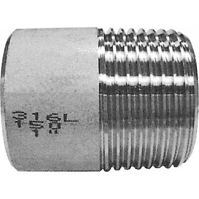 "1-1/2"" BSP Weld Nipple 316 Stainless Steel 150LB Pipe Fitting"