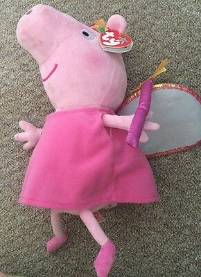 ����PEPPA PIG Princess SOFT TOYS - BNWT����