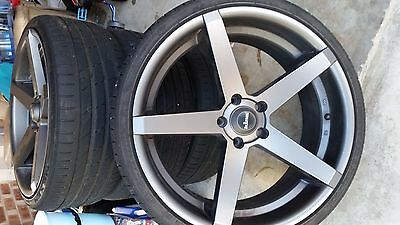 20 Inch Kings Rims & Tyres Near New Condition Set Of Four