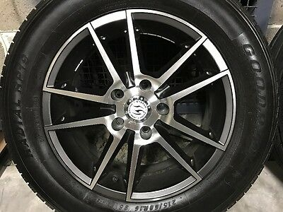 """Ford & Toyota ALLOY MAGS WITH TYRES 90% 16"""" ET 40 5x114"""