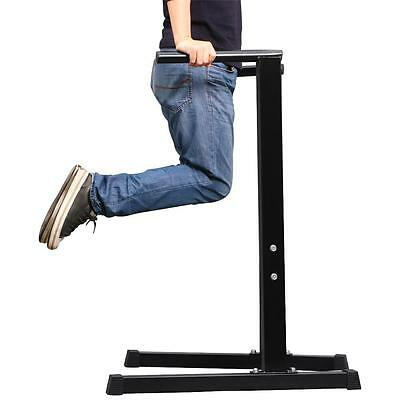 Dip Dipping Lift Exercise Stand Bench Station Home Gym Workout Fitness