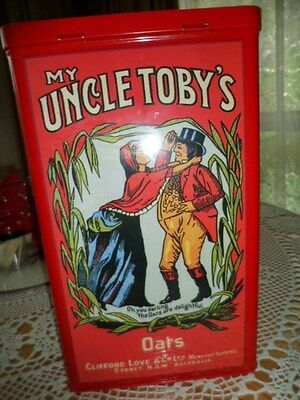Uncle Tobys Oats Tin, Celebrating 110 years.