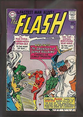 DC The Flash #155 F- (5.5) Cents Copy: Silver Age