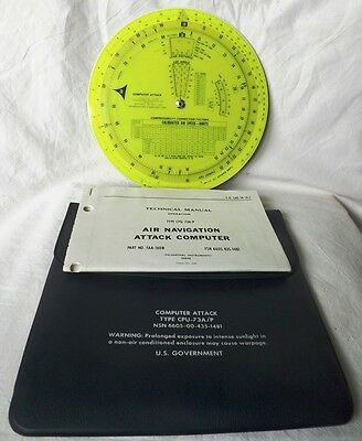 USAF Aircraft Attack Computer Type CPU-73A/P dated 1977