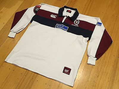Vintage 2001 Queensland Reds Super 12 Away Rugby Jersey Shirt Size XL VERY RARE