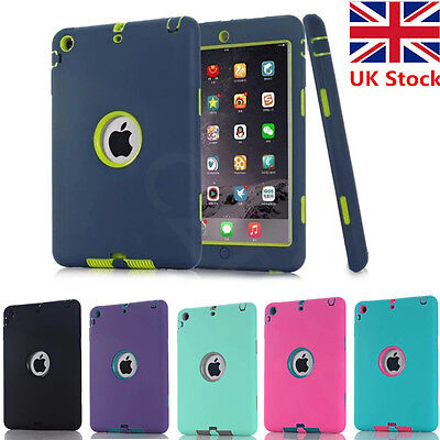 Heavy Duty Shockproof Hard Case Cover For Apple iPad Mini 1/2/3/4 iPad Air PRO
