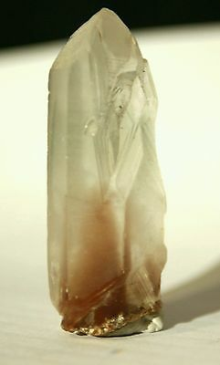 24g Natural Beautiful RED GHOST Quartz Crystal Healing Point specimen
