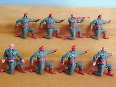 Timpo 'modern Army' Kneeling Americans For Spares/conversions # 2