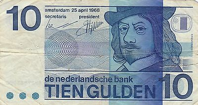billet holland  10 gulden  PAYS BAS banknote