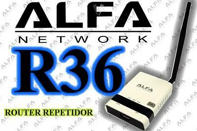 AIP-W502 - Alfa Network R36 Router 3G + Repetidor WIFI para RTL8187L