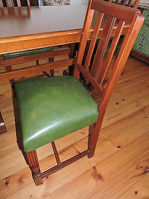 Vintage Retro Dining Set Table and Chairs
